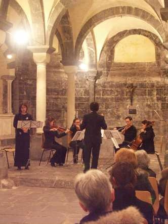 'Five Poems' in Genova